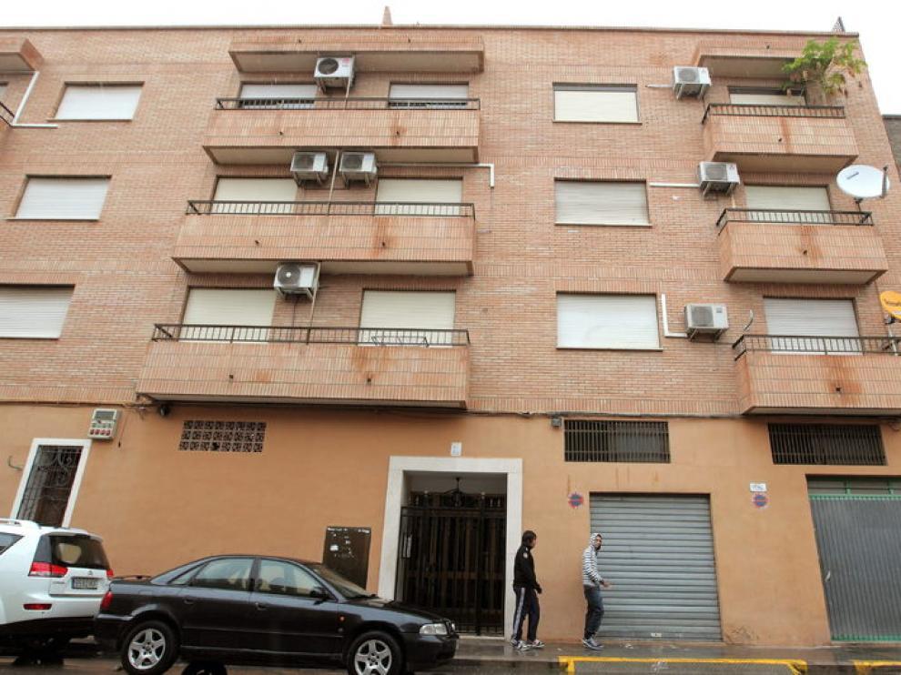Edificio donde se han cometido los asesinatos.