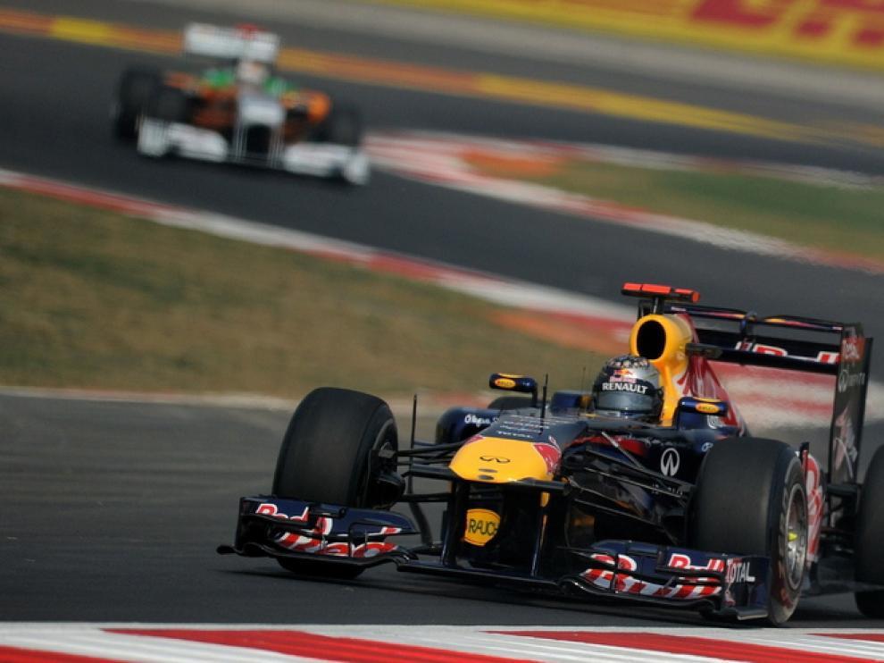 Vettel, en los últimos entrenamientos libres del GP de la India