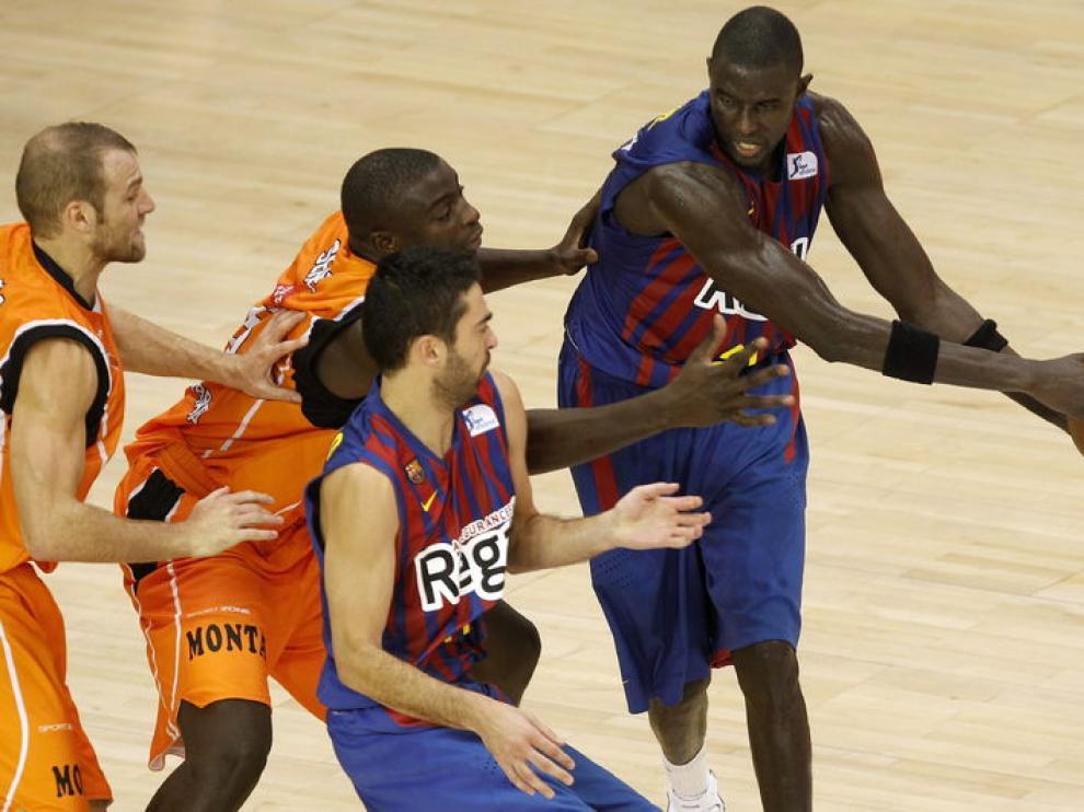 Partido entre Barcelona y Fuenlabrada