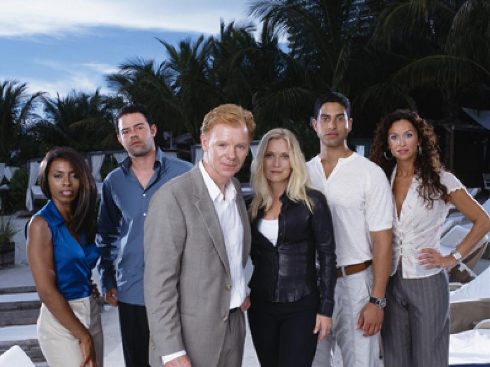 """Reparto de la serie """"CSI Miami""""."""
