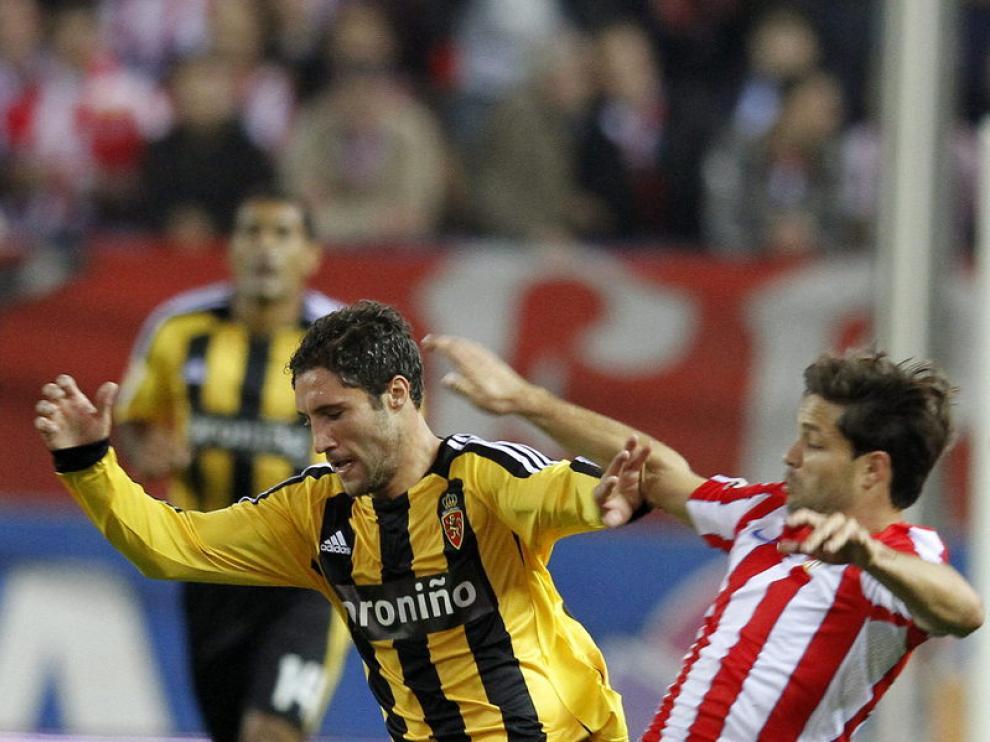 Imágenes del Atlético - Zaragoza