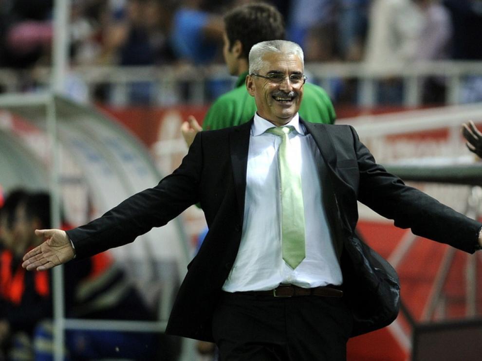 El entrenador del Granada, Fabri