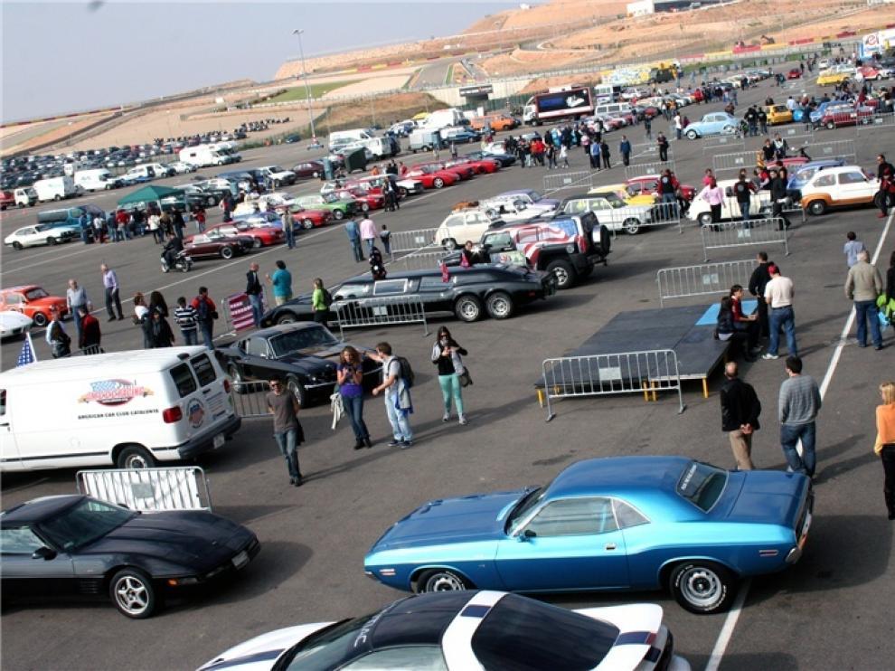 Vehículos participantes en el MotorLand Classic Festival