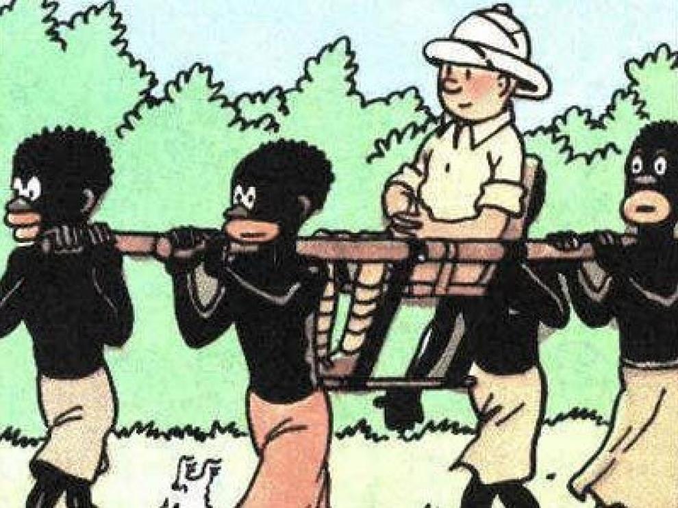 'Tintín en el Congo'