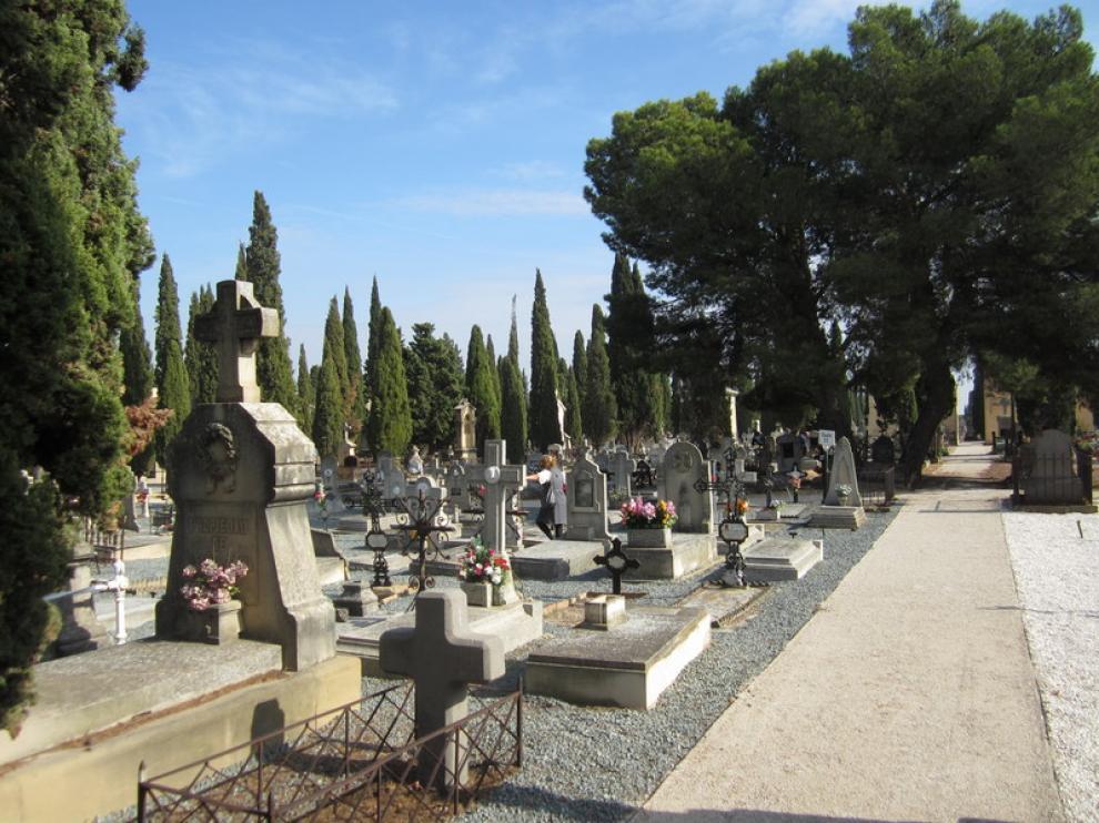 Imagen del cementerio de Torrero