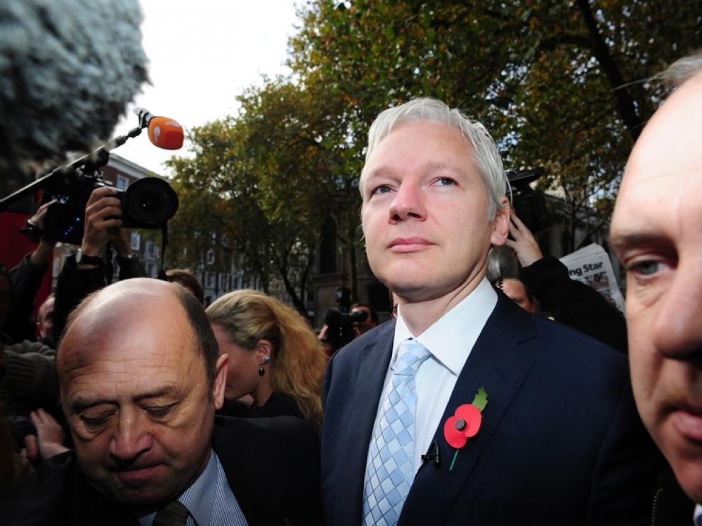 El fundador del portal Wikileaks, Julian Assange