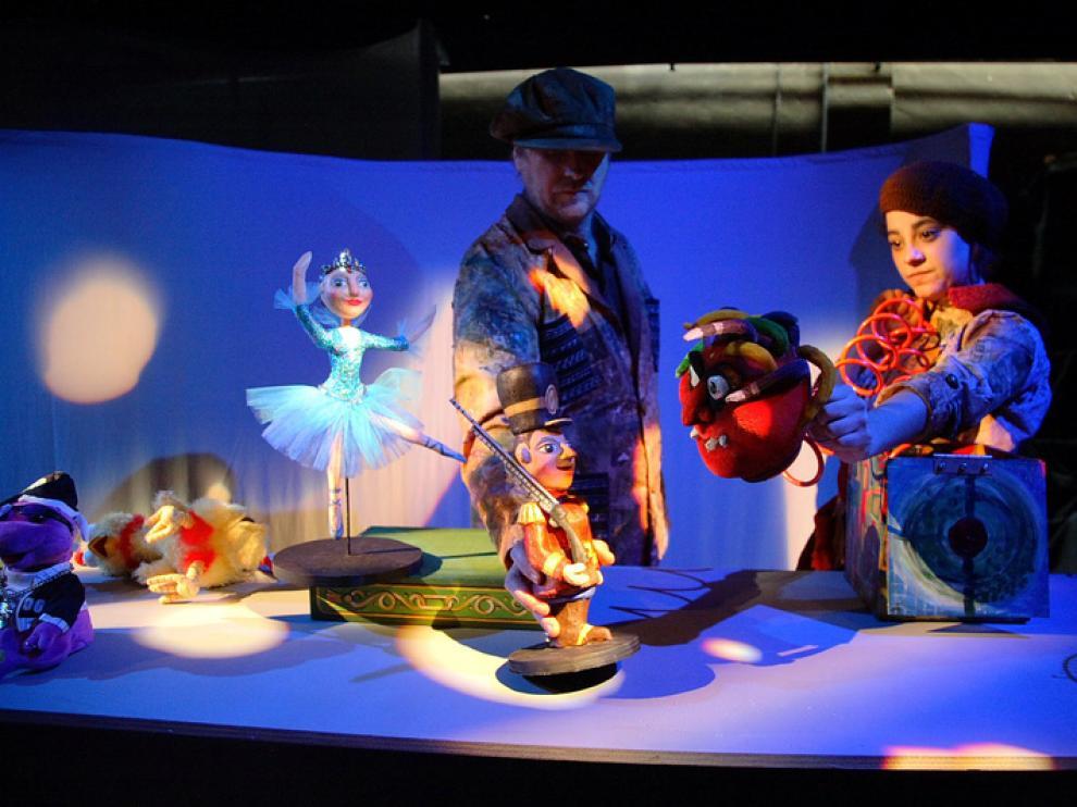 Imagen de una actuación infantil