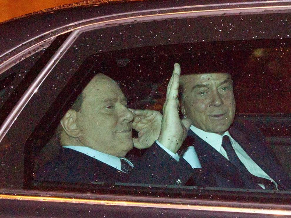 El primer ministro italiano abandona el parlamento