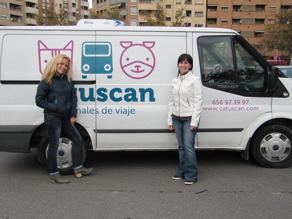 Pilar Guzmán y Sara Vallés, socias de Catuscan