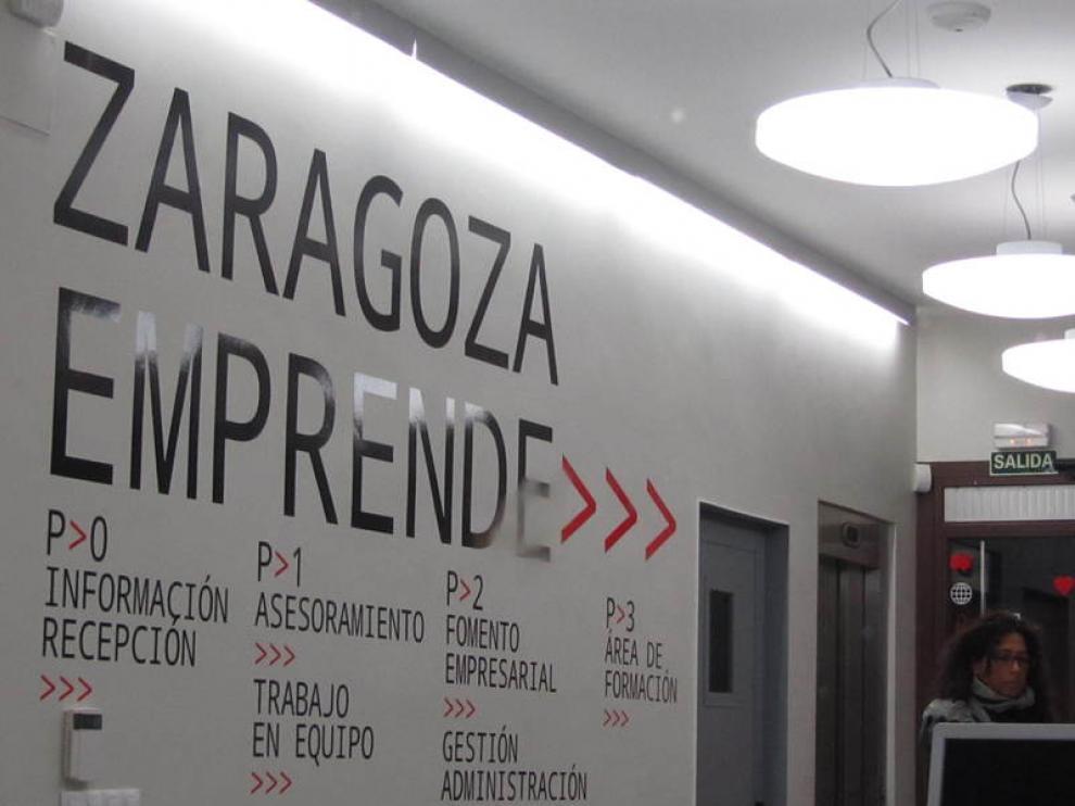 Oficina de Zaragoza Emprende