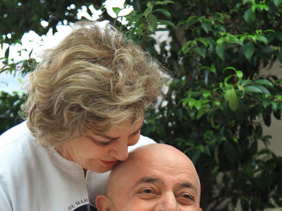 Lula Da Silva junto a su esposa Marisa Leticia.