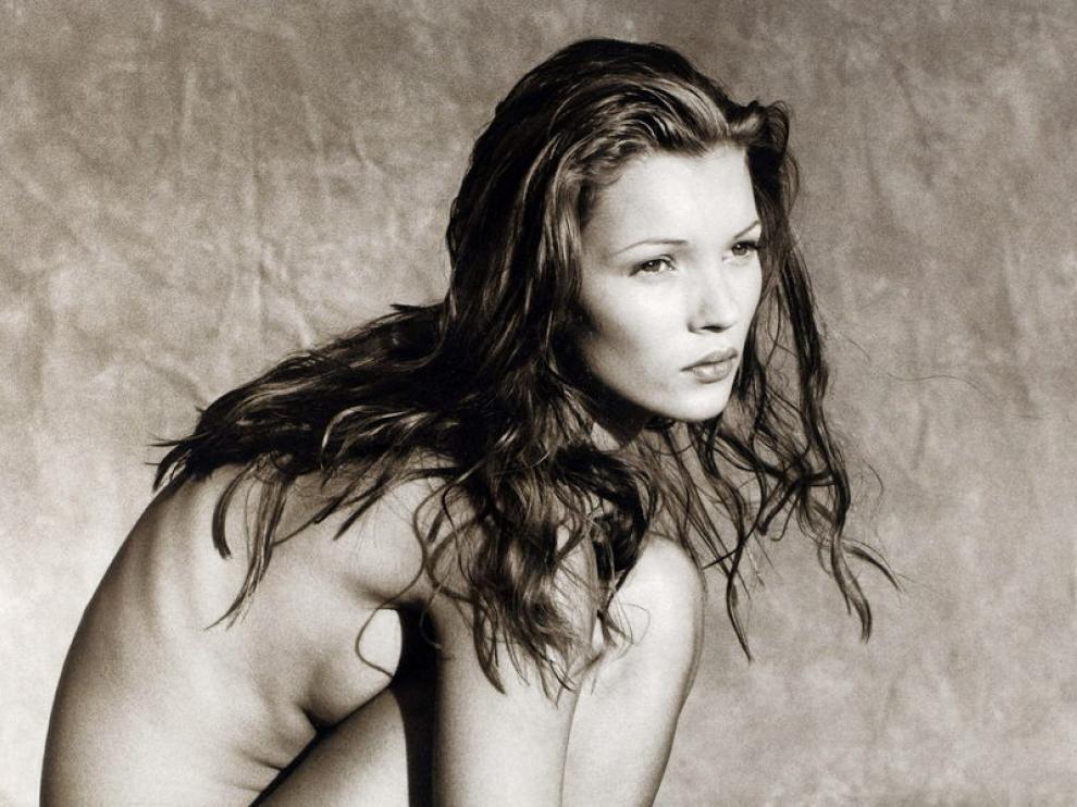Instantánea subastada de Kate Moss