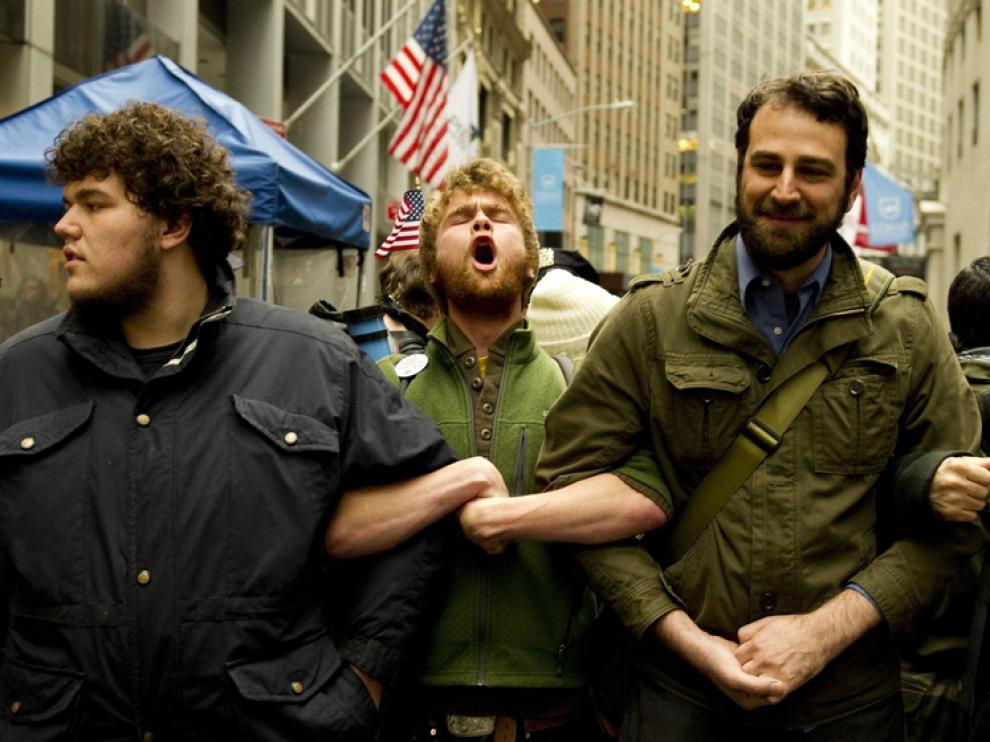 Protestas del movimiento Ocuppy Wall Street