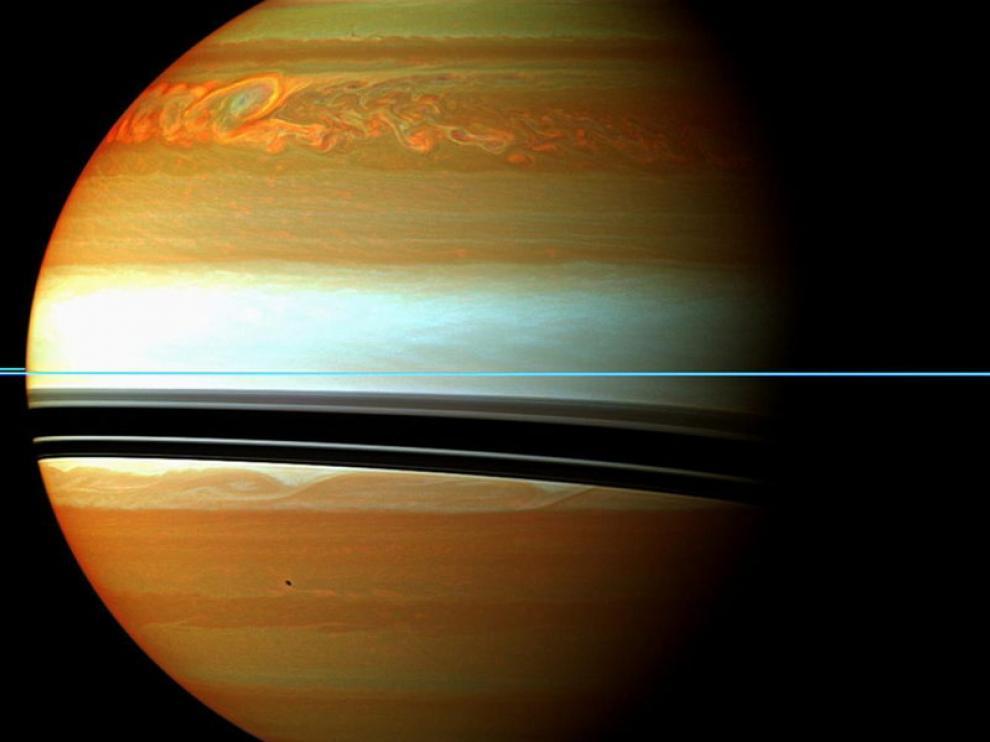 Saturno se está quedando sin sus anillos a la máxima velocidad