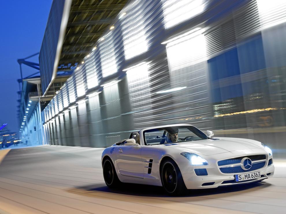 Imagen del Mercedes SLS AMG