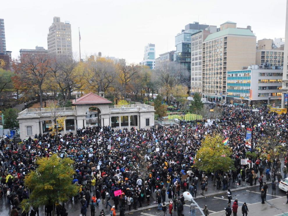 "Manifestaciones de ""Ocupa Wall Street"""