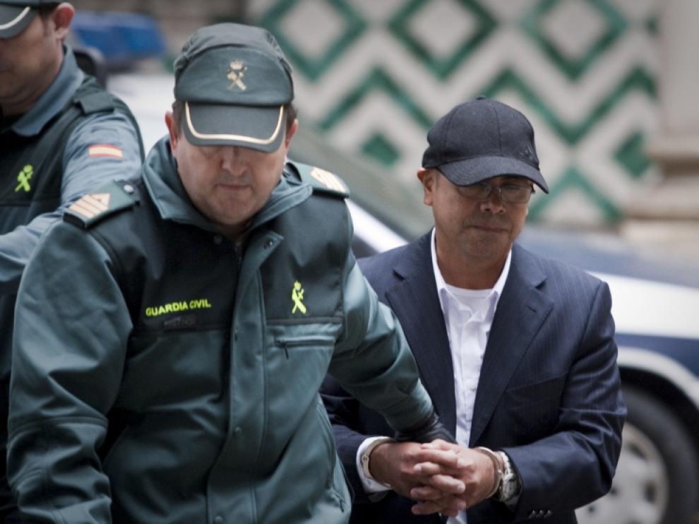 Imagen de la llegada al juicio