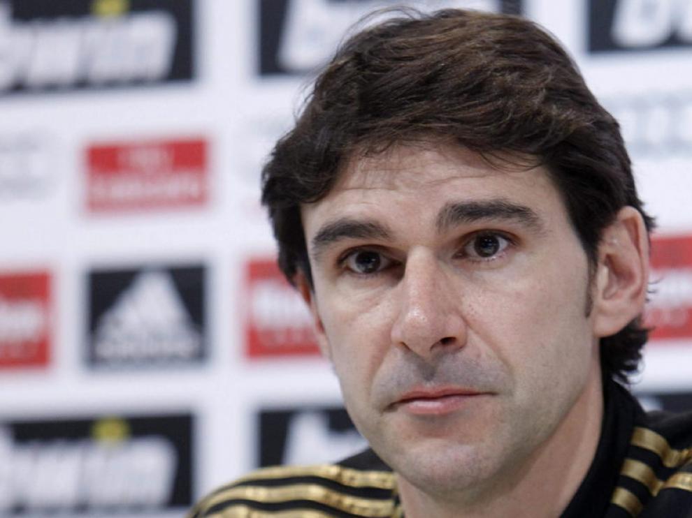 El segundo entrenador del Real Madrid, Aitor Karanka, ha hablado sobre el partido que disputará el equipo contra el Valencia.
