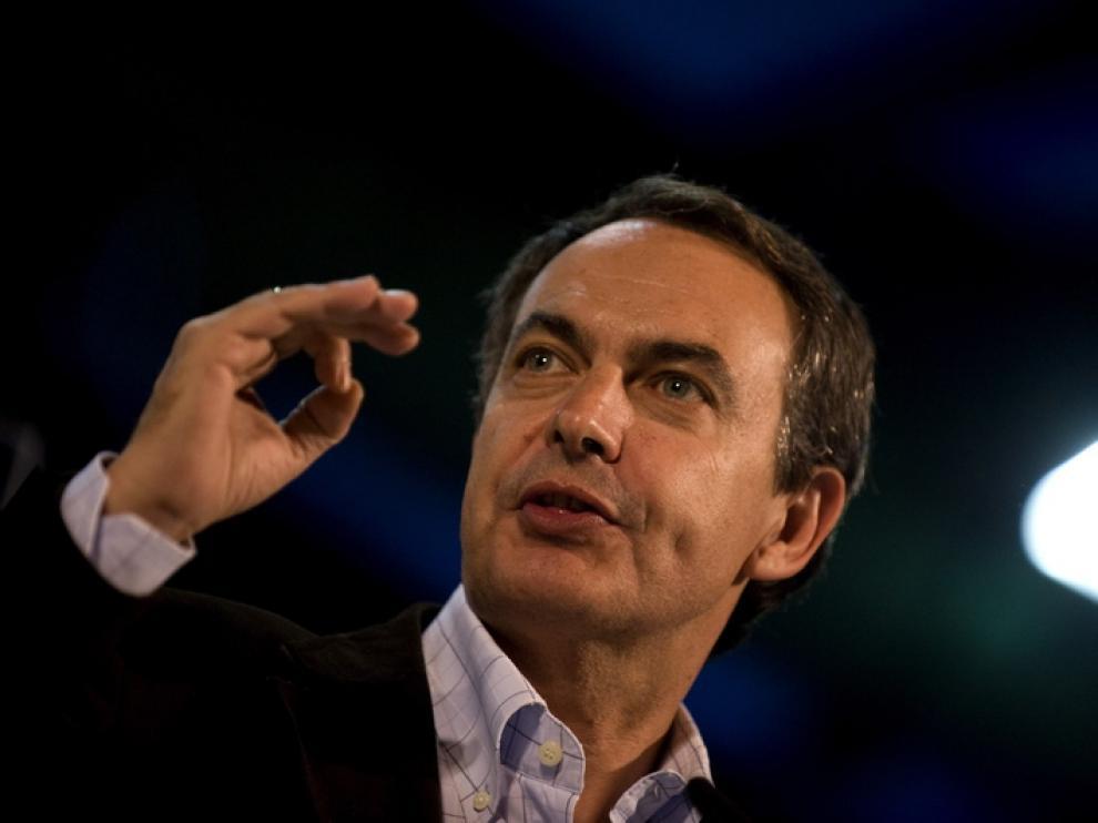 Zapatero, en su último acto como Presidente del Gobierno