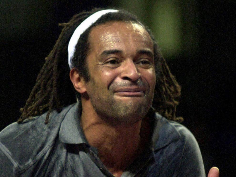 Noah, en su etapa de tenista