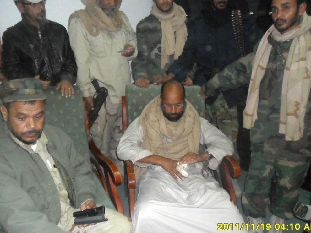 El hijo predilecto del dictador libio