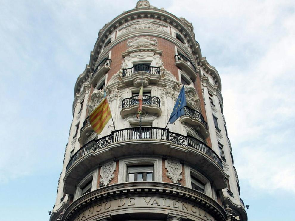 Sede central del Banco de Valencia, en Valencia