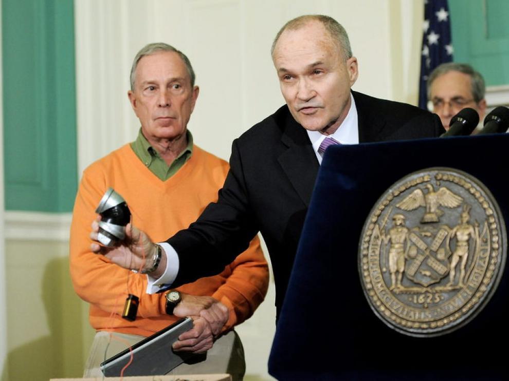 El alcalde de Nueva York y el jefe de la Policía de la ciudad explicaron los detalles de la operación