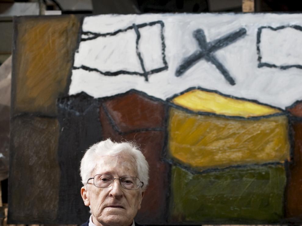El pintor y escultor, Juan José Vera Ayuso
