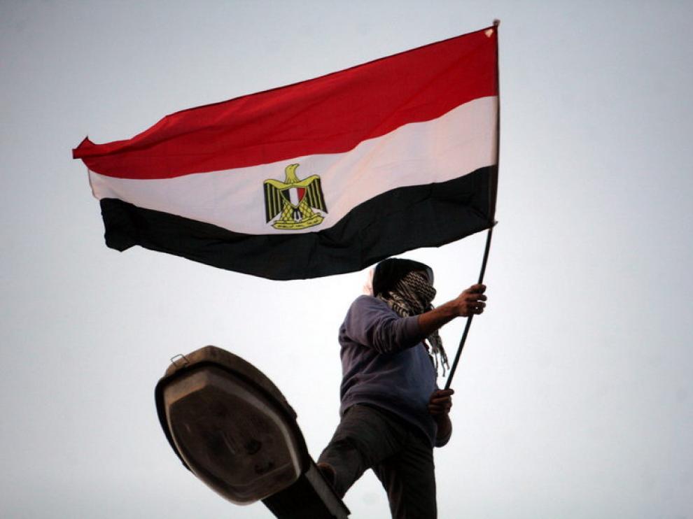 Pasadas protestas en la plaza Tahrir de El Cairo