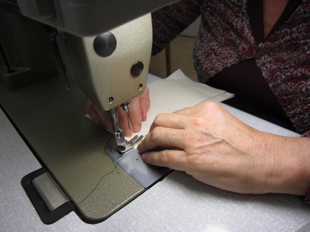 La precisión es básica a la hora de coser