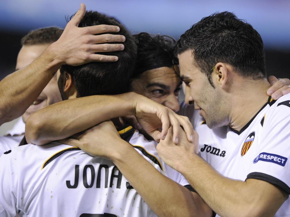 El Valencia demostró su potencial ante el KRC Genk.