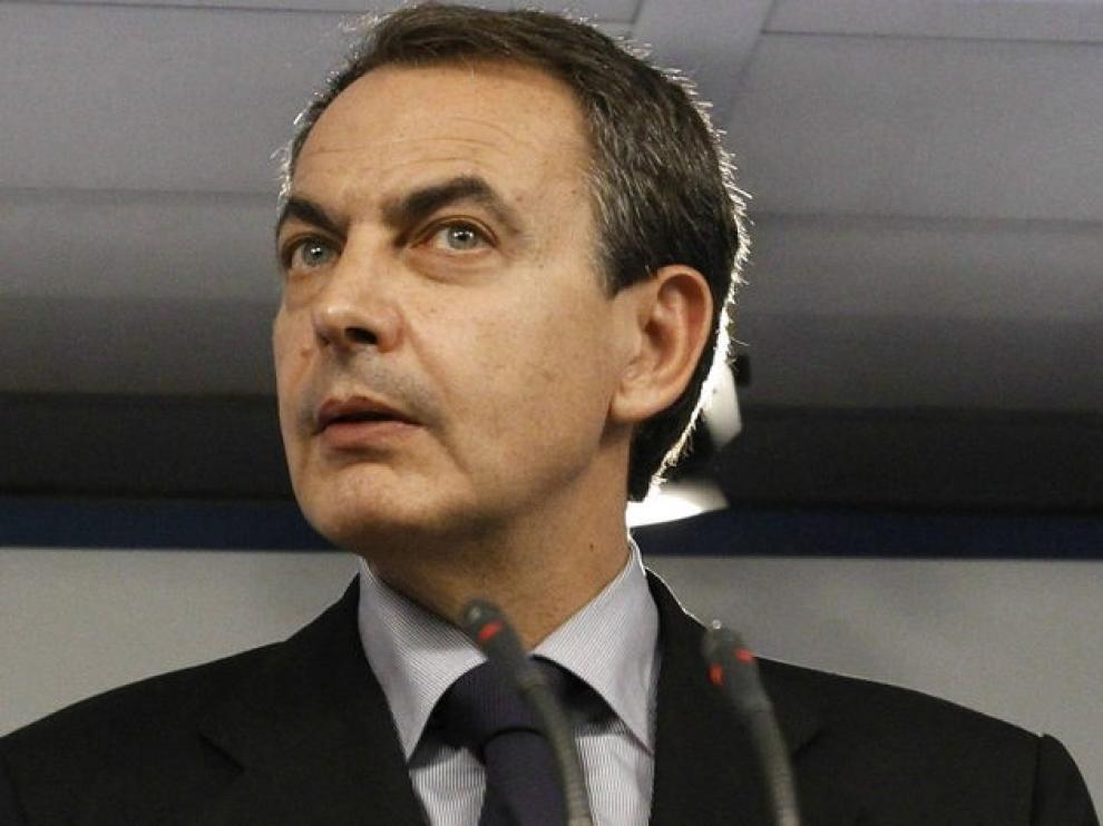 El presidente en funciones, José Luis Rodríguez Zapatero