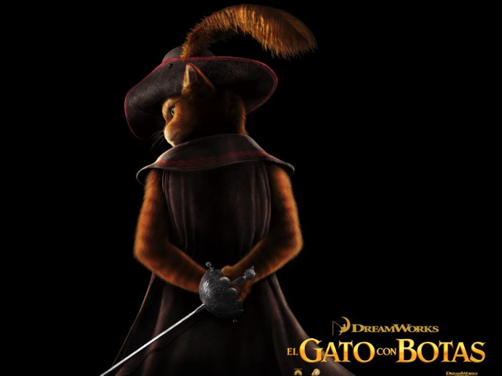 Estreno de la película El Gato Con Botas en los cines de  Zaragoza