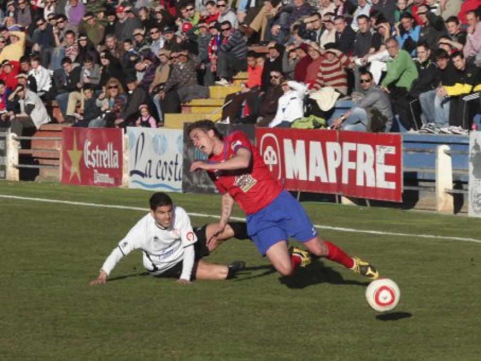 Foto del partido de ida de Liga disputado en Teruel frente al Ontinyent