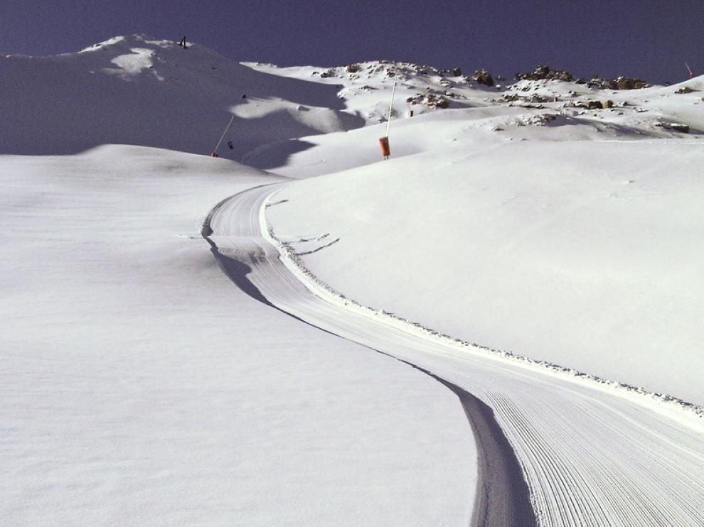 Este fin de semana se esperan nevadas intensas en el Pirineo