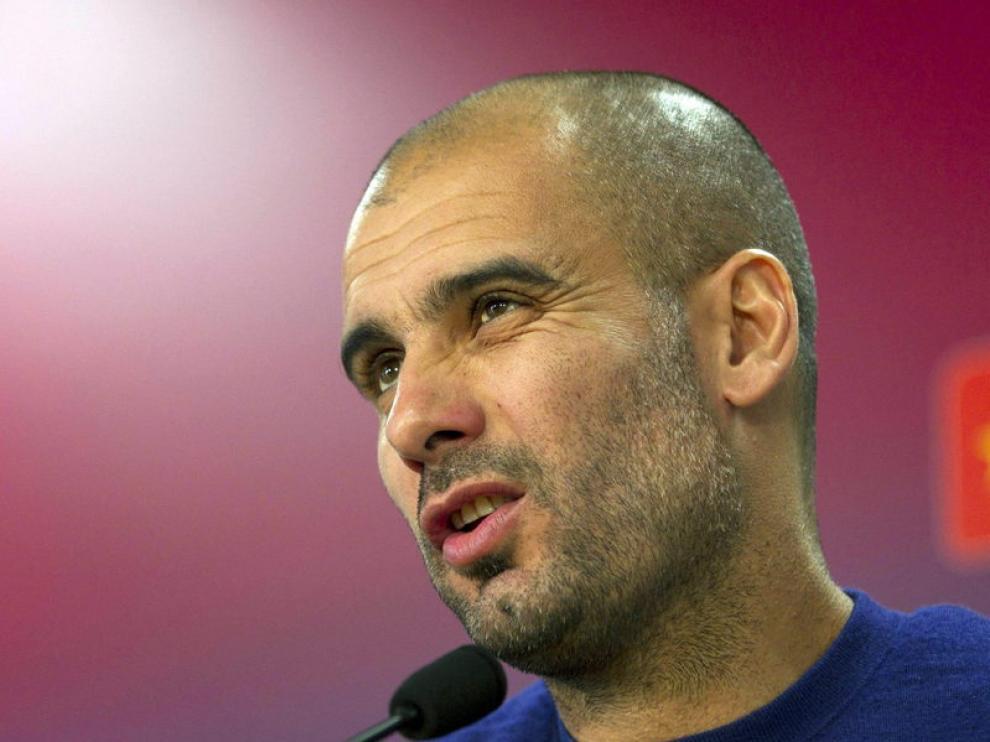 Guardiola, entrenador del Barça