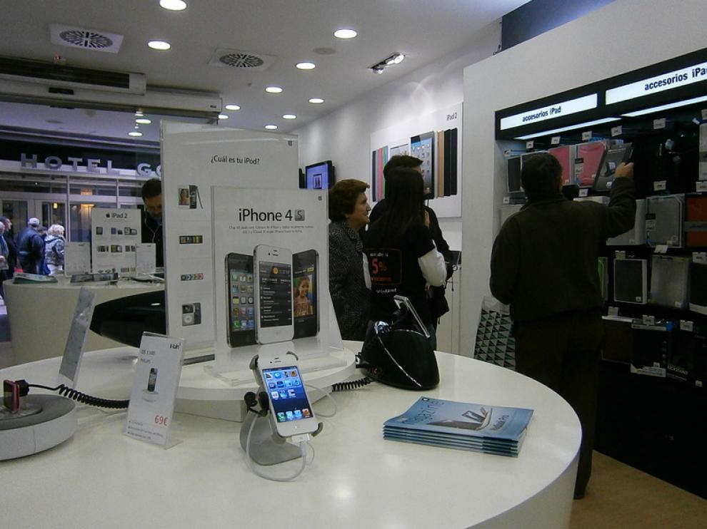 Imagen de la tienda K-tuin de la calle Cinco de Marzo, en Zaragoza