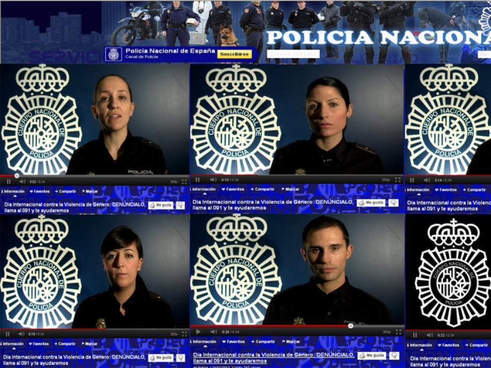 Campaña de la Policía contra el maltrato