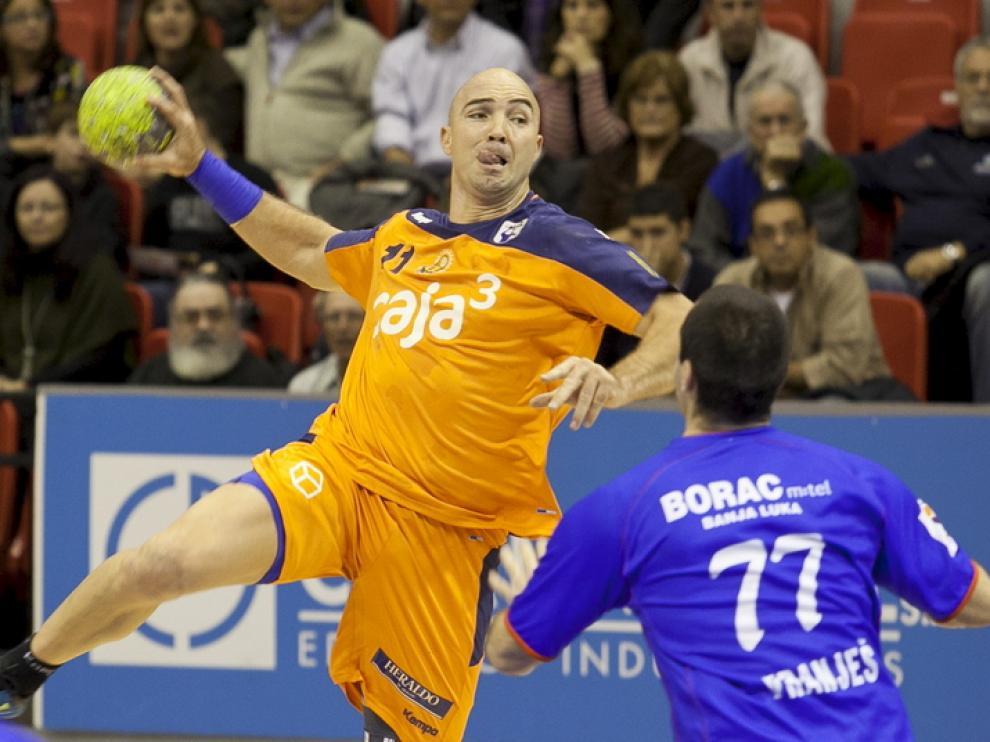 El Caja3 Aragón hizo un gran partido contra el Borac Banja Luka.