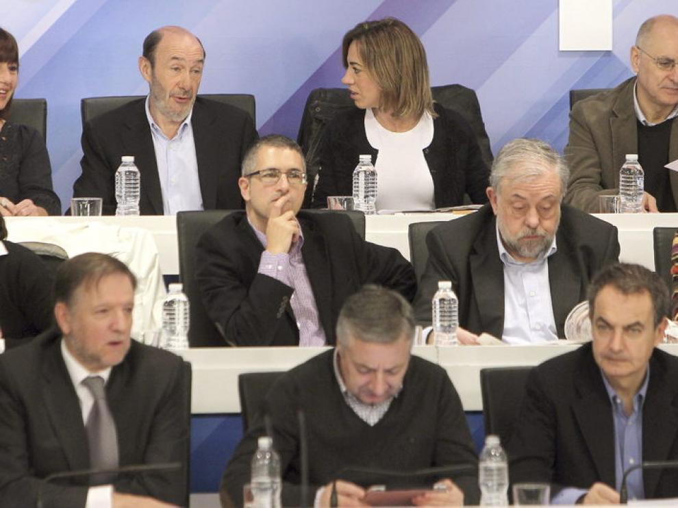 Rubalcaba, en el Comité Federal del PSOE