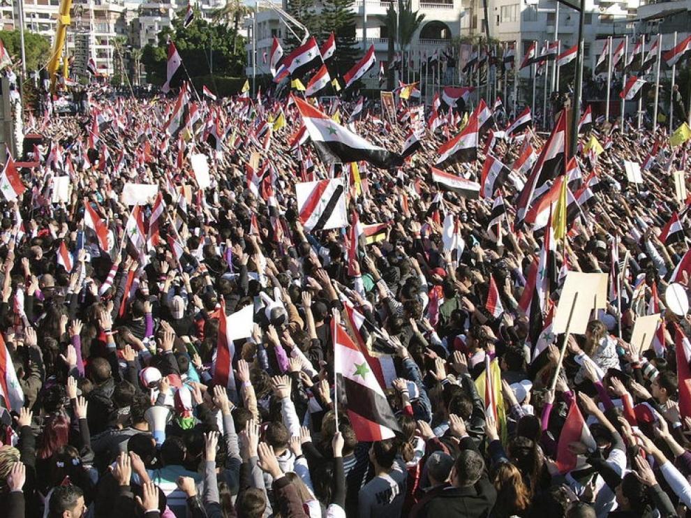 Movimientos populares en Siria