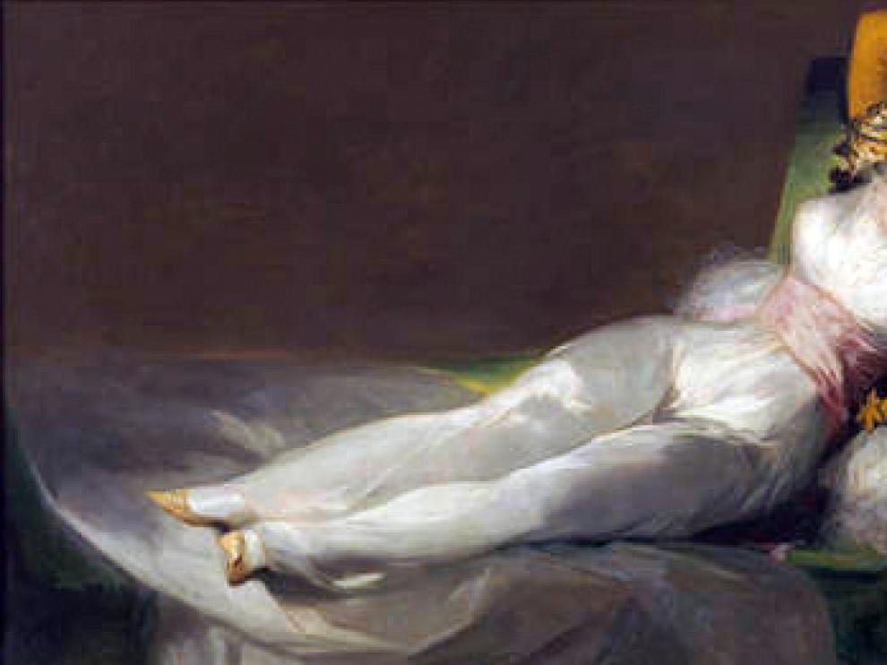 'La maja vestida', de Goya