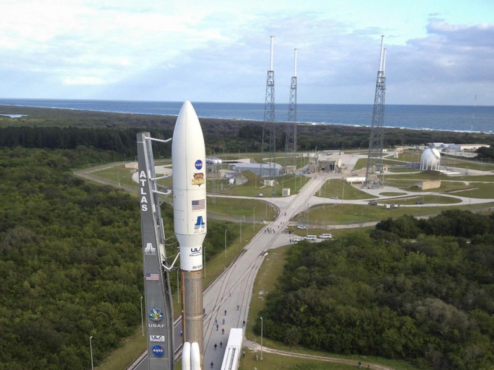 El cohete Atlas V