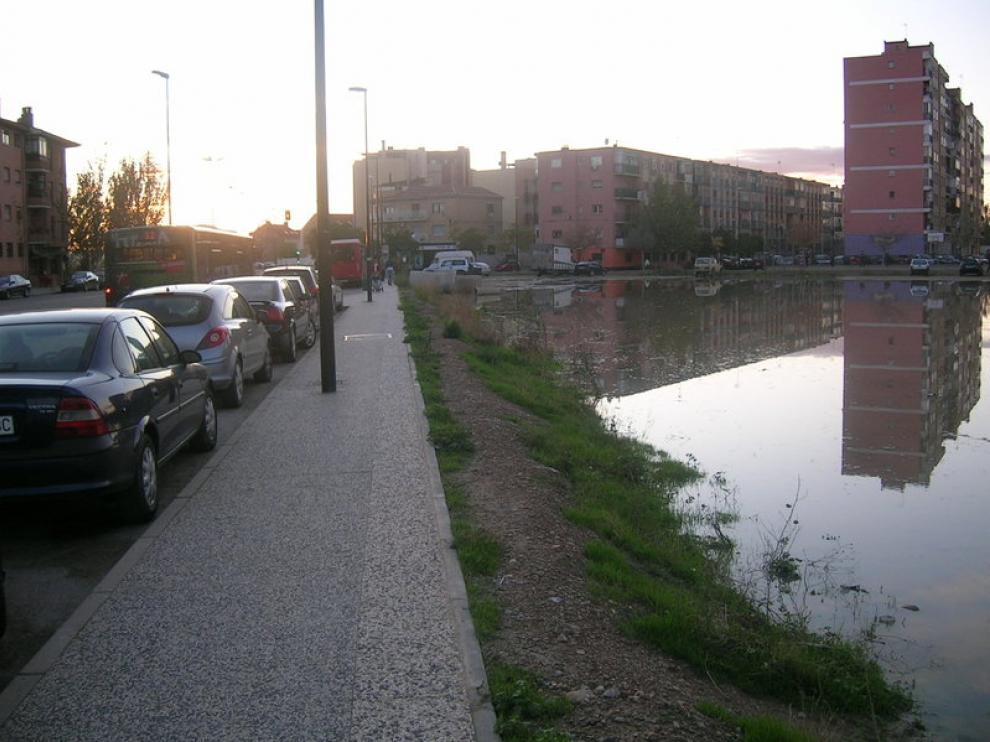 Imagen del solar situado en la avenida del Real Zaragoza de Santa Isabel