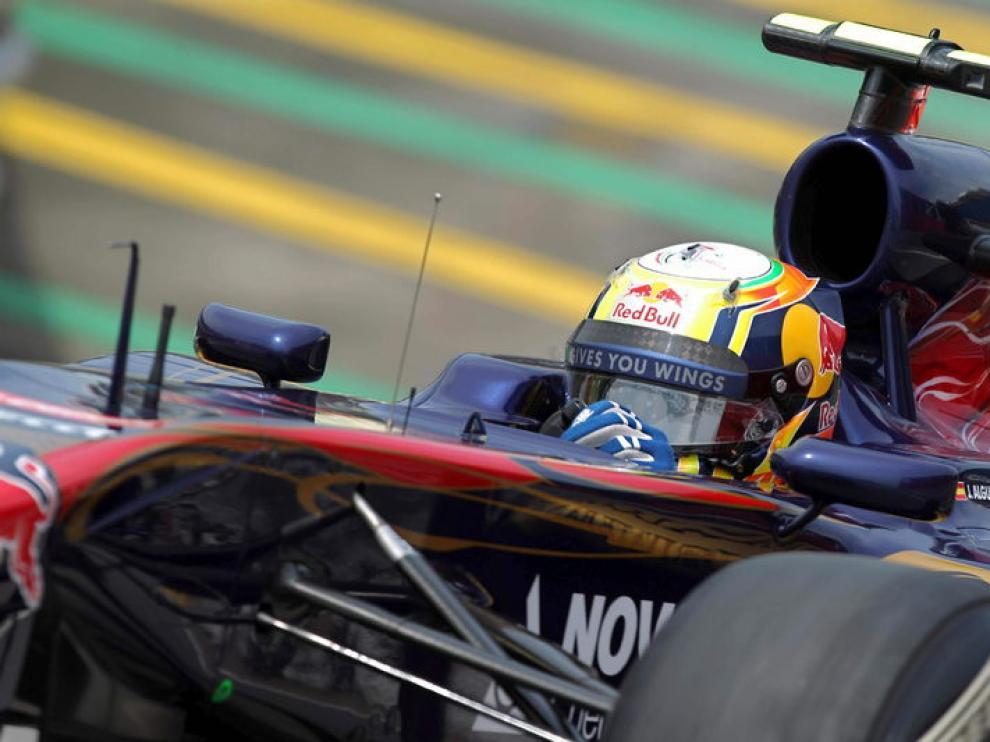 Alguersuari a los mandos del Toro Rosso