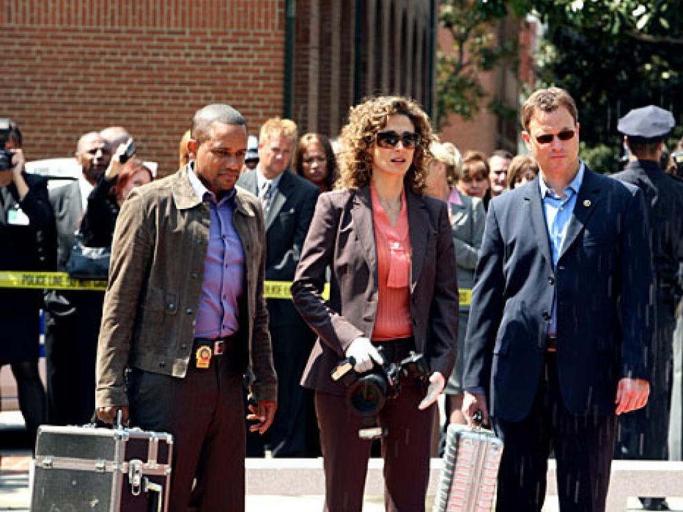 Fotograma de la serie de televisión, 'C.S.I. Nueva York'.