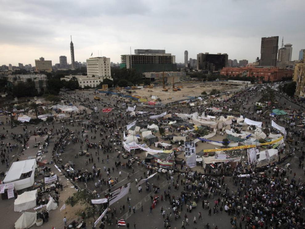 Los egipcios vuelven a acercarse a la plaza tahrir este domingo