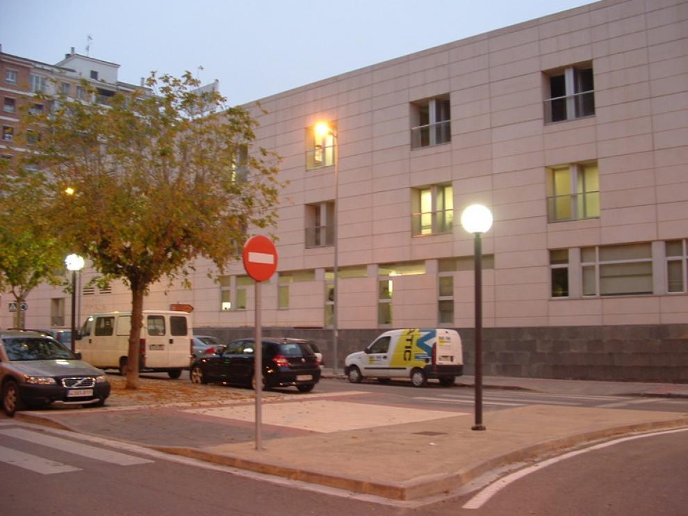 Centro de salud Pirineos de Huesca donde se imparte este curso