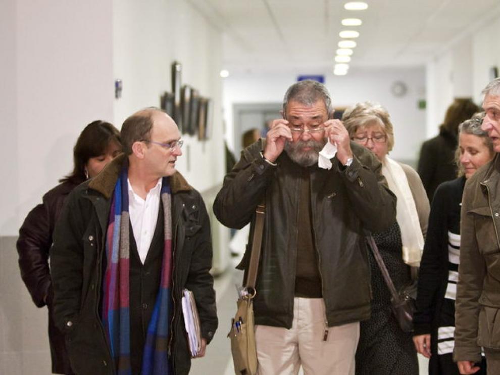 El líder de UGT, Cándido Méndez, en Zaragoza
