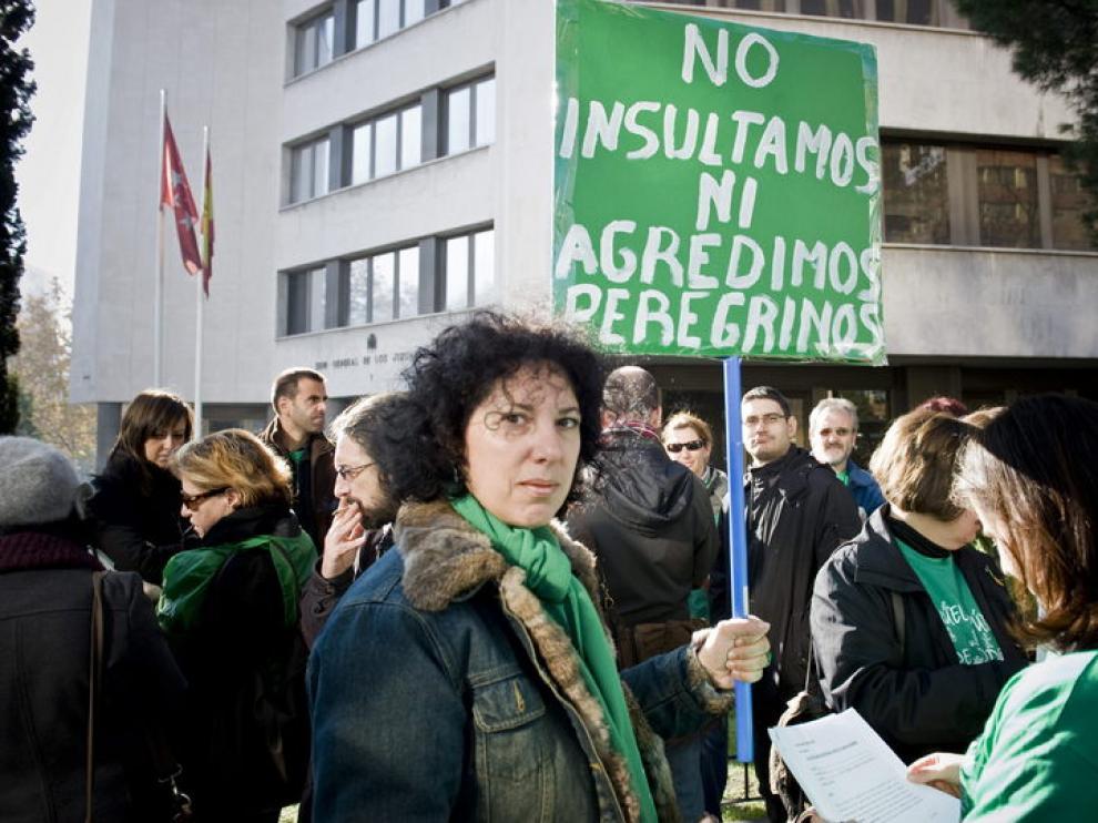 Manifestación de docentes en Madrid